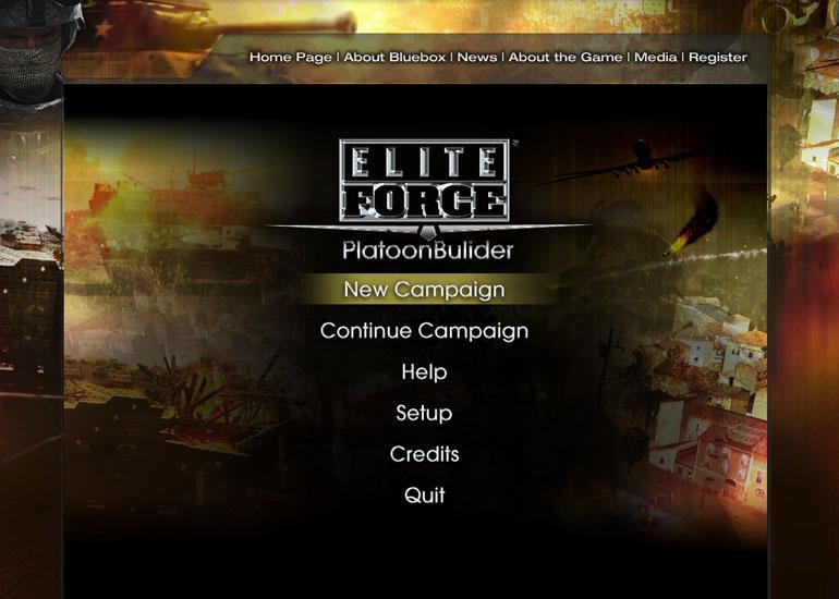 BlueBox Elite Force Online Game Demo