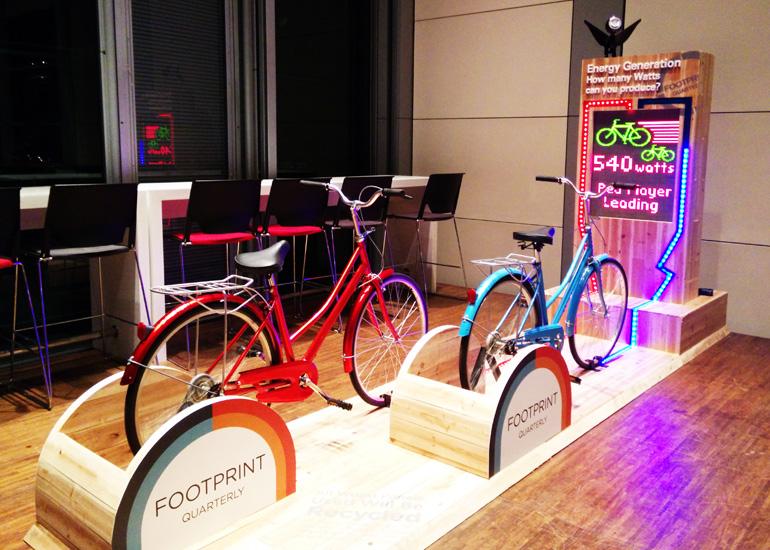 HSBC Environmental protection electronic bicycle